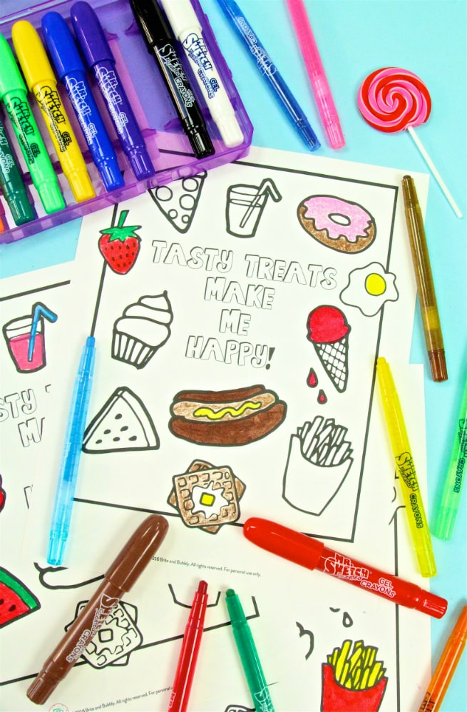 Foodie Free Printable