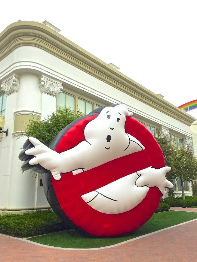 Ghostbusters Sign