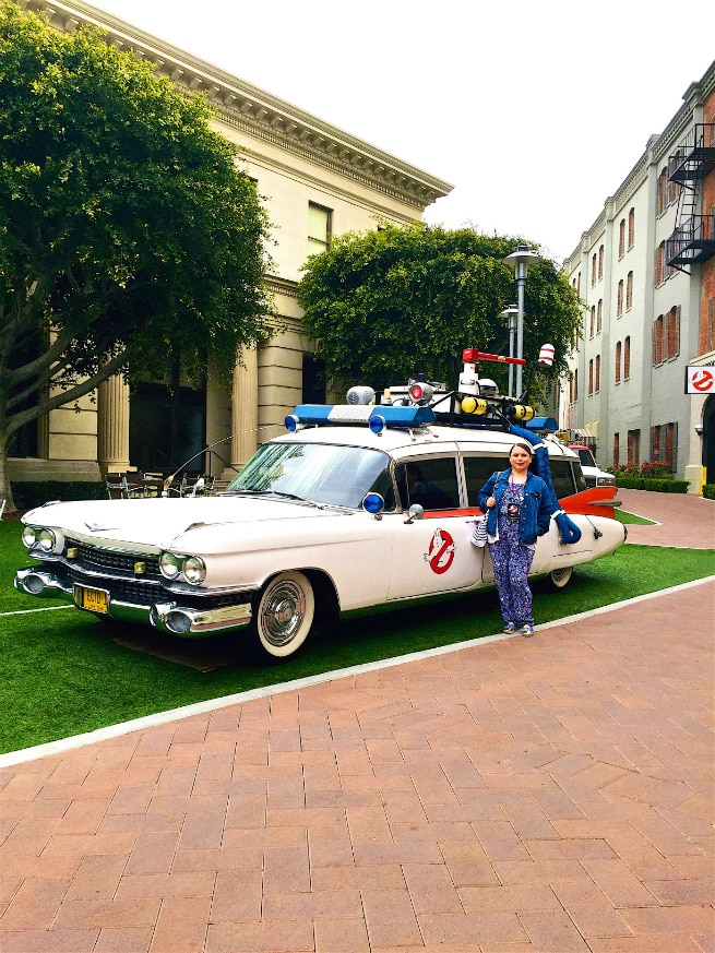 Me and Original Ecto 1 Ghostbusters