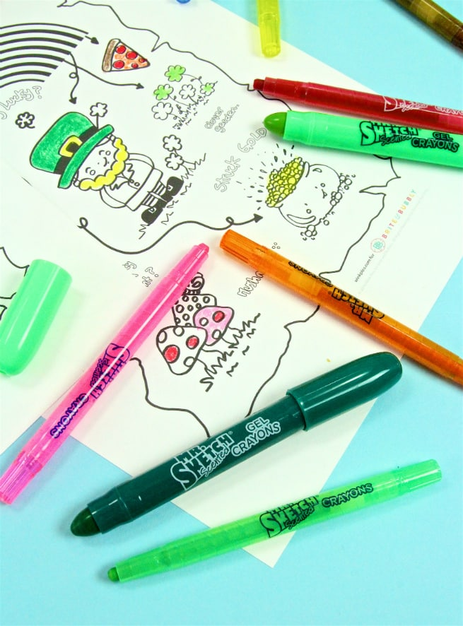 Mr. Sketch Scented Crayons Big and Small