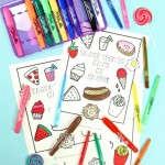 Tasty Scented After School Coloring Fun!