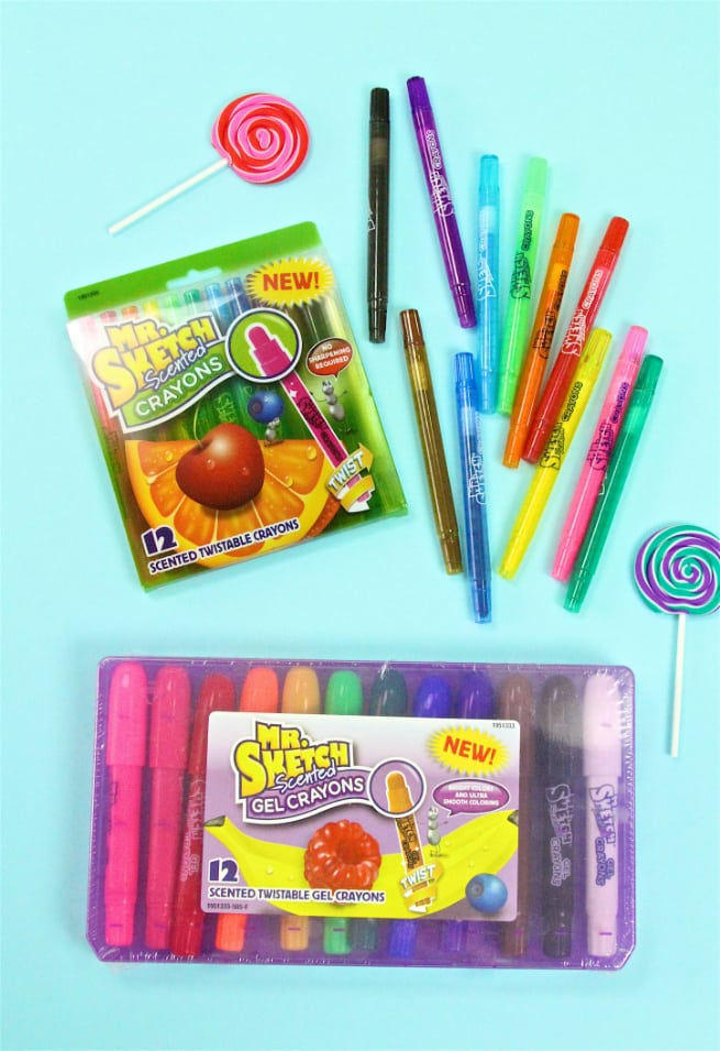 Mr. Sketch Scented Crayons Packs