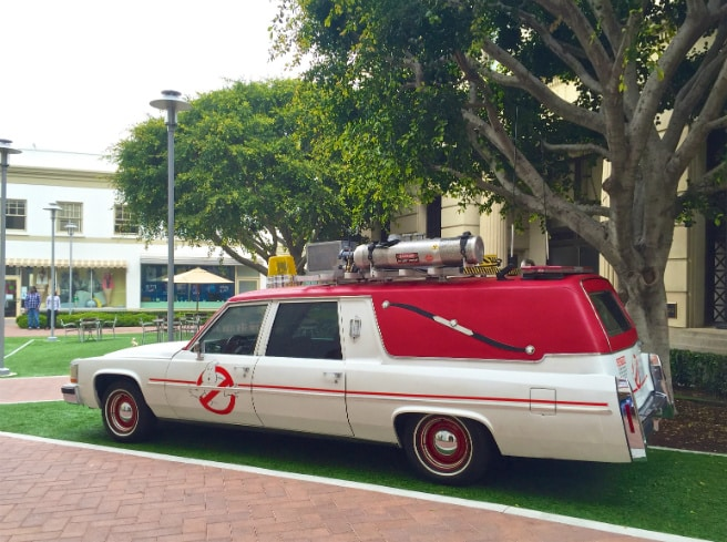 New Ecto 1 Ghostbusters