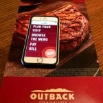 An Easier Dinning Experience At Outback!