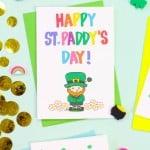 Free Printable Saint Patrick's Day Cards!
