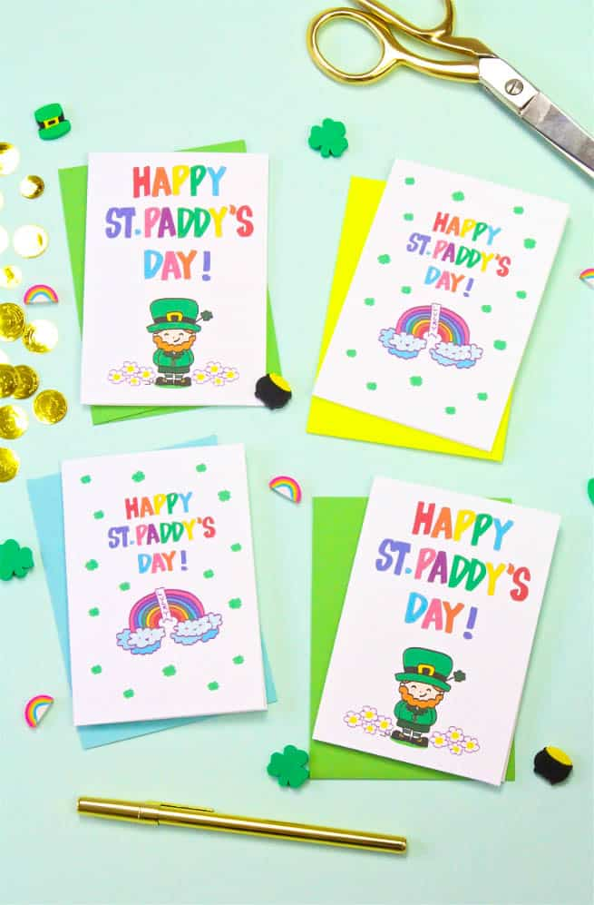 Printable Saint Patrick's Day Cards