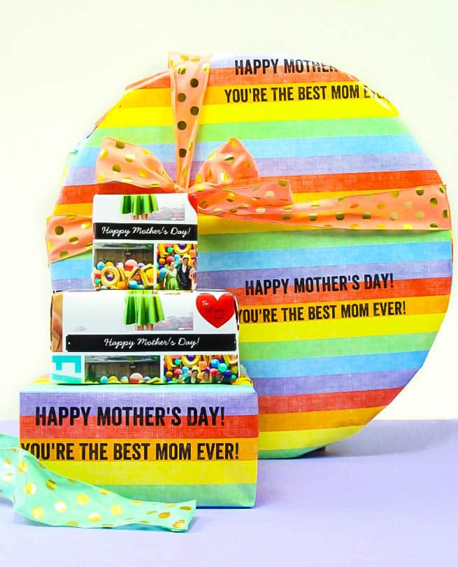 Shutterfly Mother's Day Gift Wrap