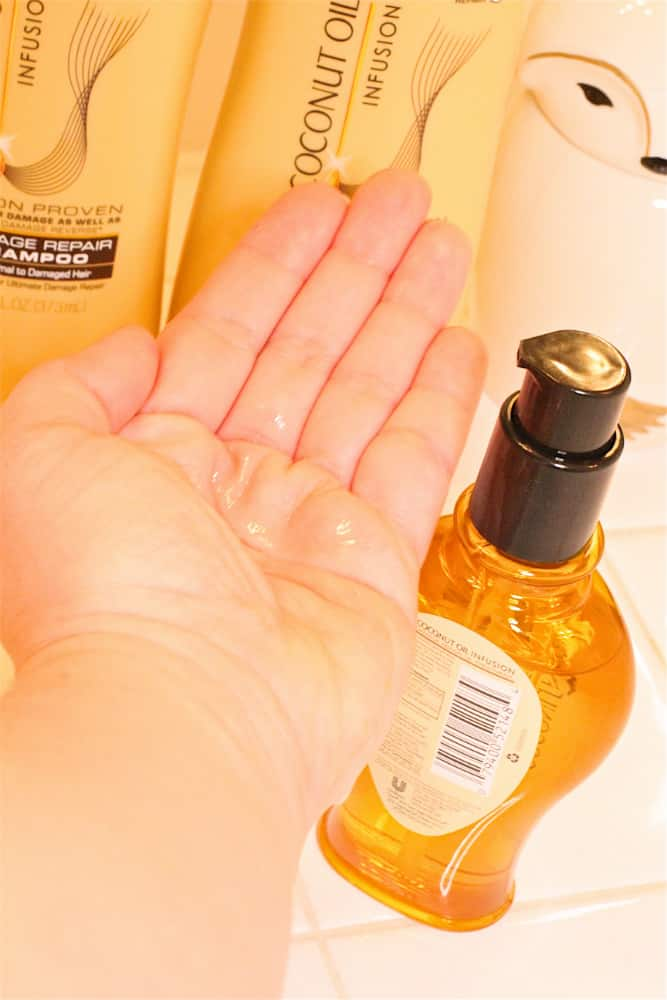 Suave Coconut Oil Infusion Hair Oil 2