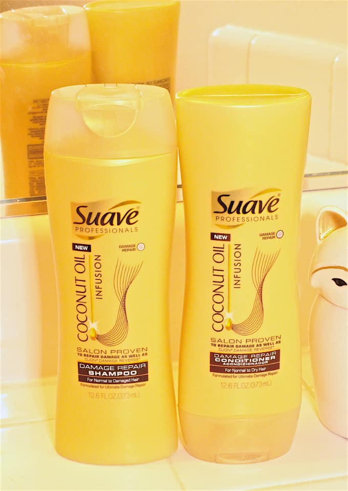 Suave Coconut Oil Infusion Hair Shampoo and Conditioner