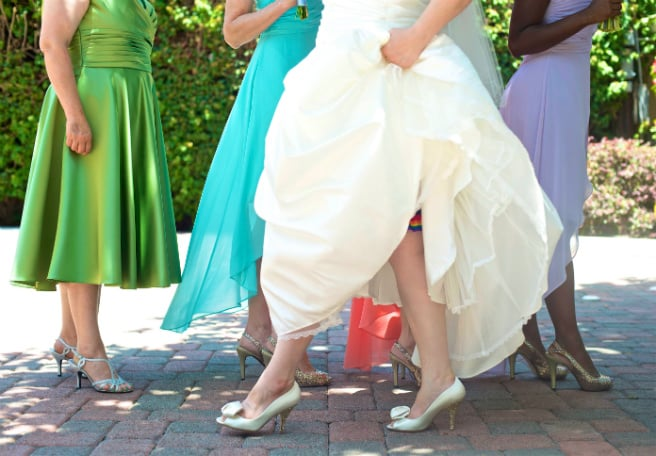 Wedding Shoes Walk