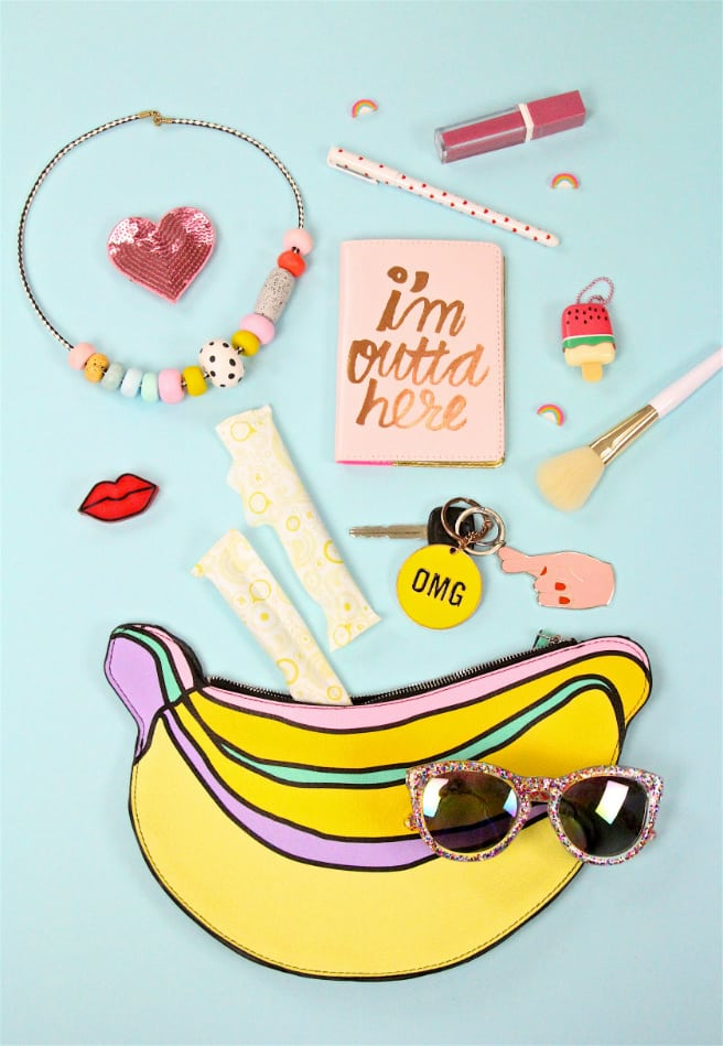 What's In My Banana Purse