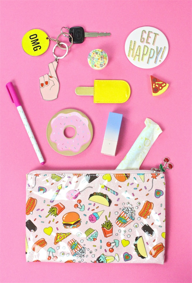 What's In My Tasty Treats Purse