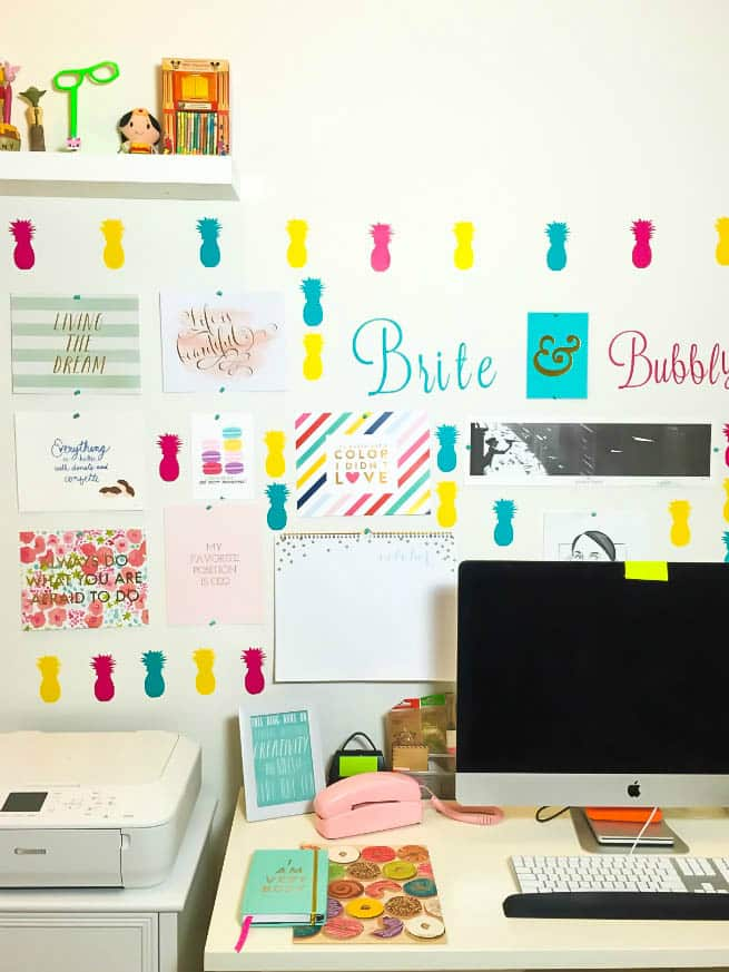 Brite and Bubbly Studio Office