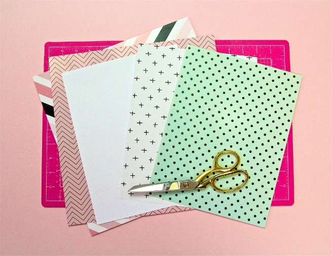 DIY Mother's Day Notebooks and Notepads Papers
