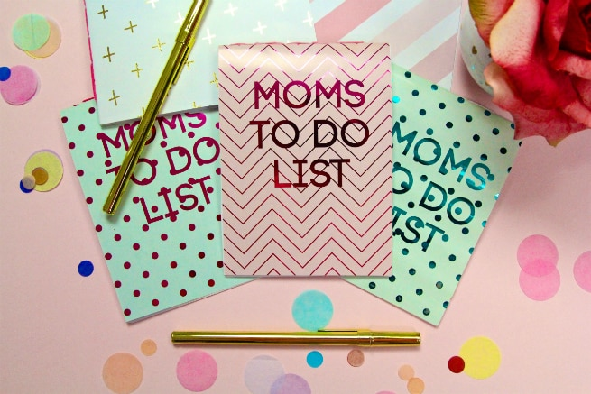 DIY Mother's Day Notepads