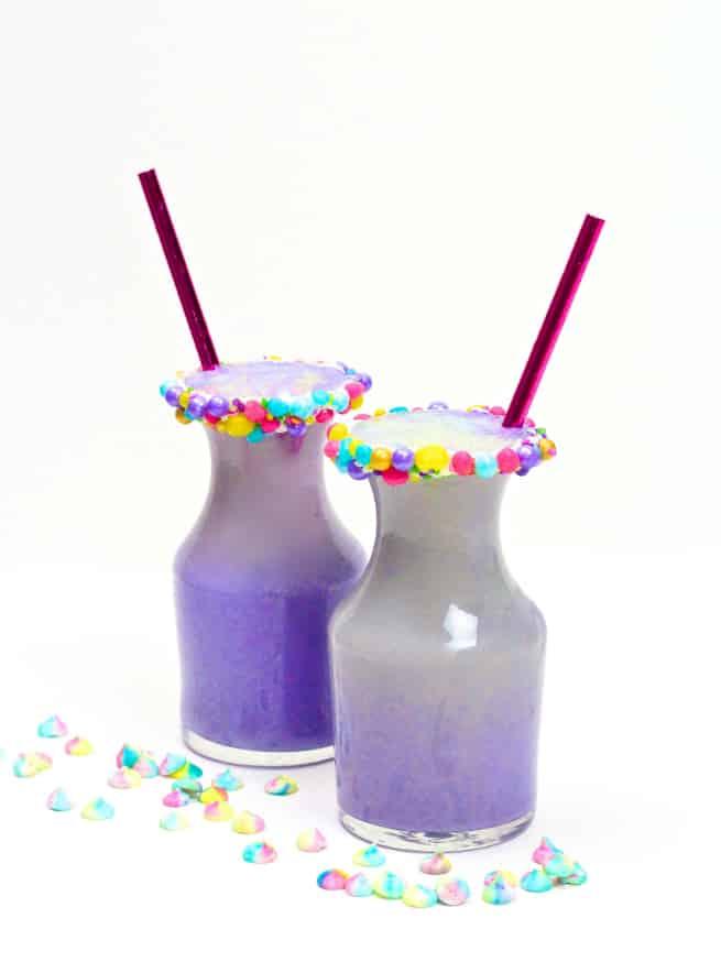 Easy unicorn milk drink recipe