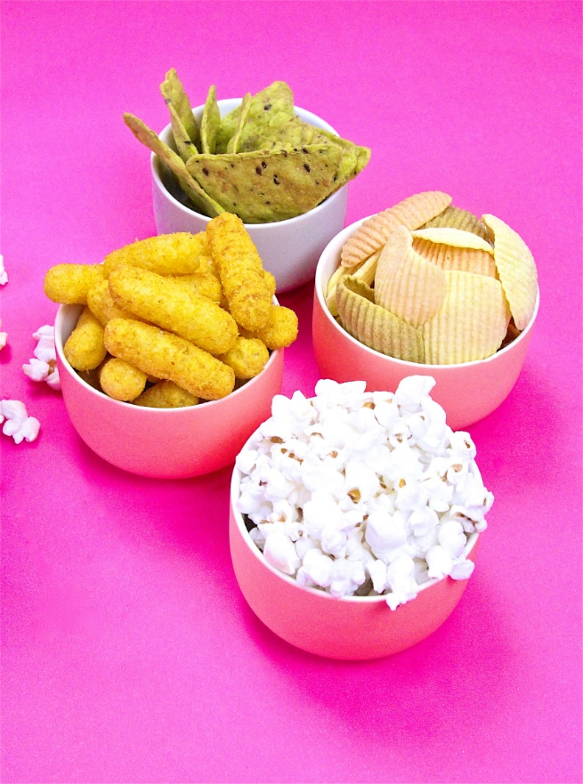 Healthier Summer Movie Snacks Variety