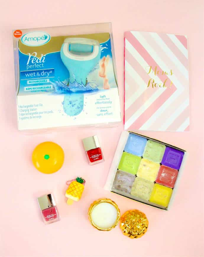 Amope Mother's Day Spa Day Items