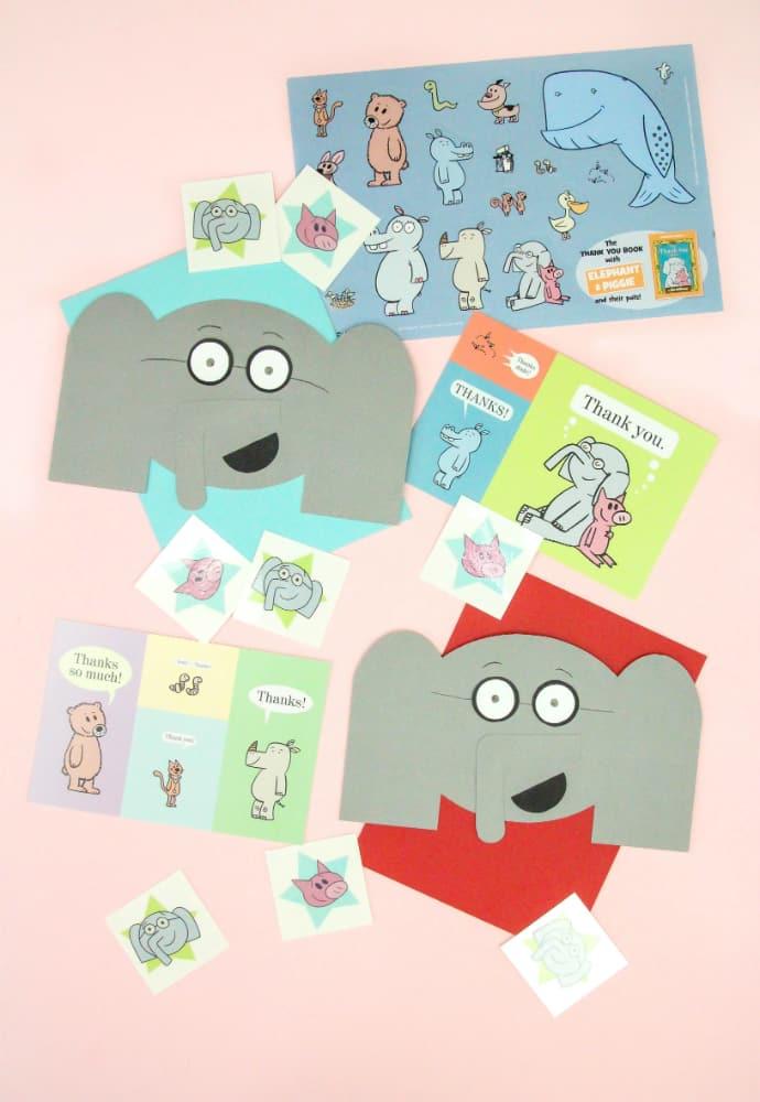 DIY Elephant Thank You Cards