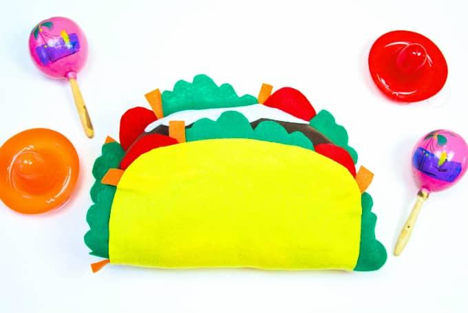DIY New Sew Mini Taco Pillow main