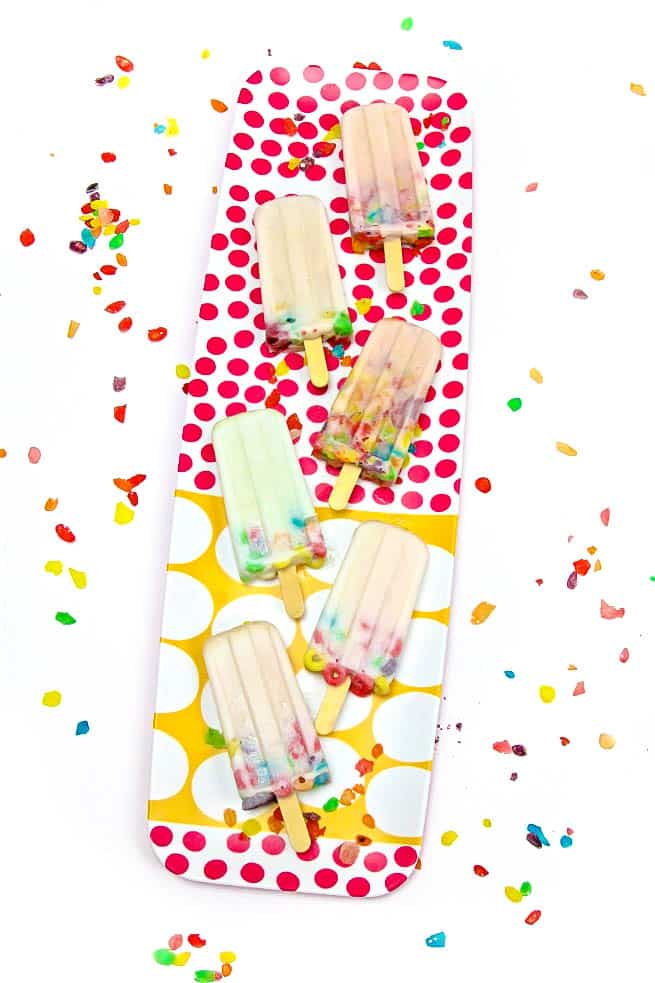 DIY a2 Milk & Cereal Popsicles Main