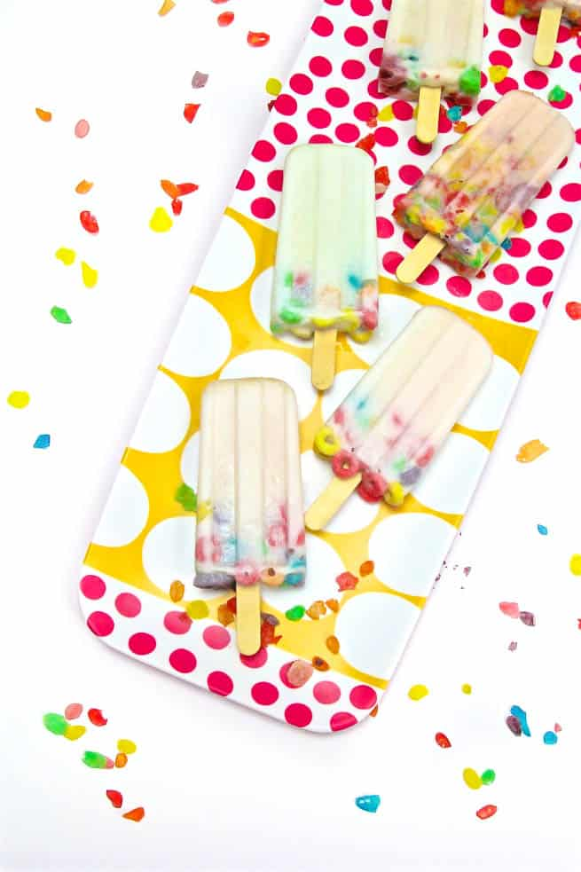 DIY a2 Milk Popsicles Singles