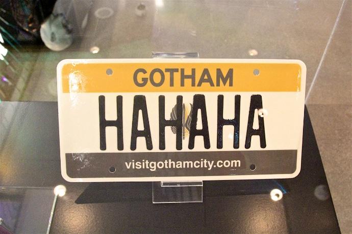 Joker License Plate