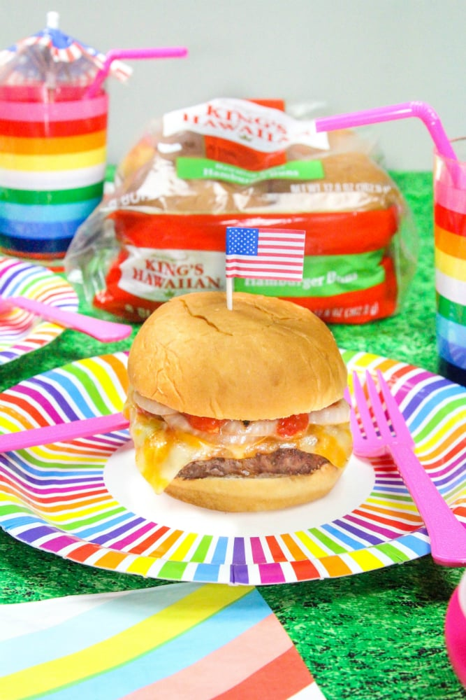 Memorial Day BBQ Buger