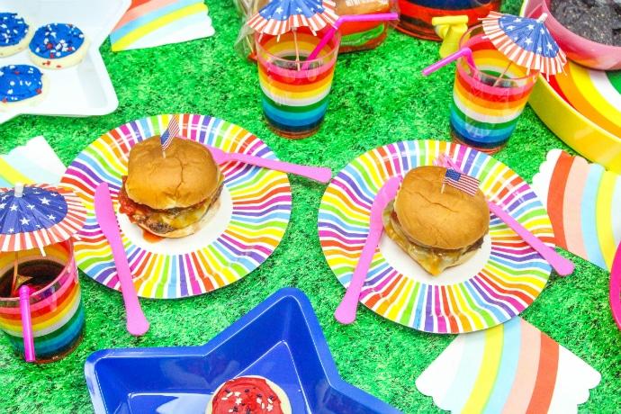 Memorial Day BBQ Burgers