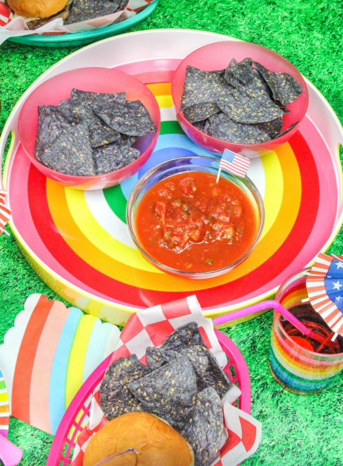 Memorial Day BBQ Chips