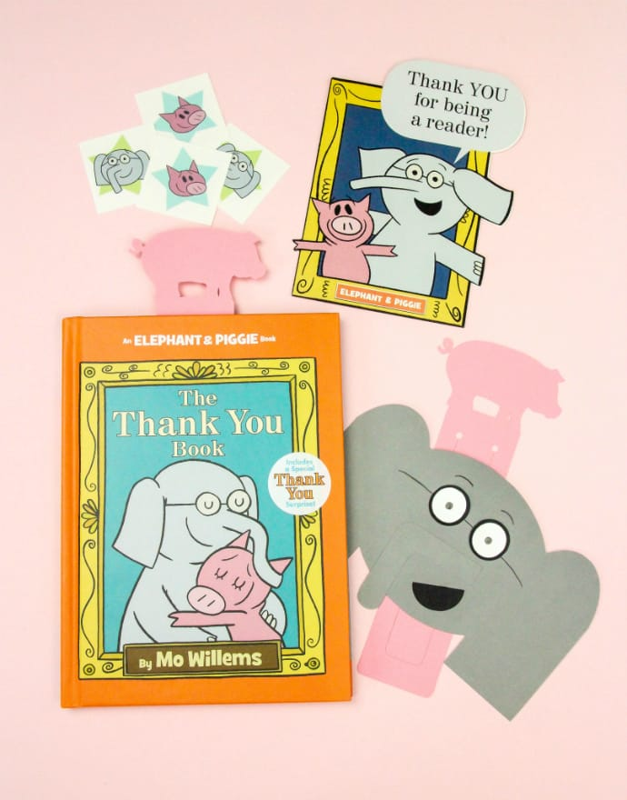 Mo Willems Thank You Book and DIY