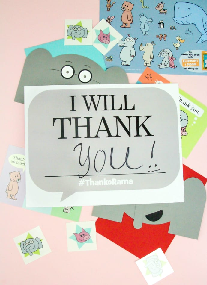 Mo Willems Thank You Month