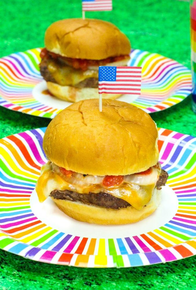Pineapple-Salsa-Burger-Recipe