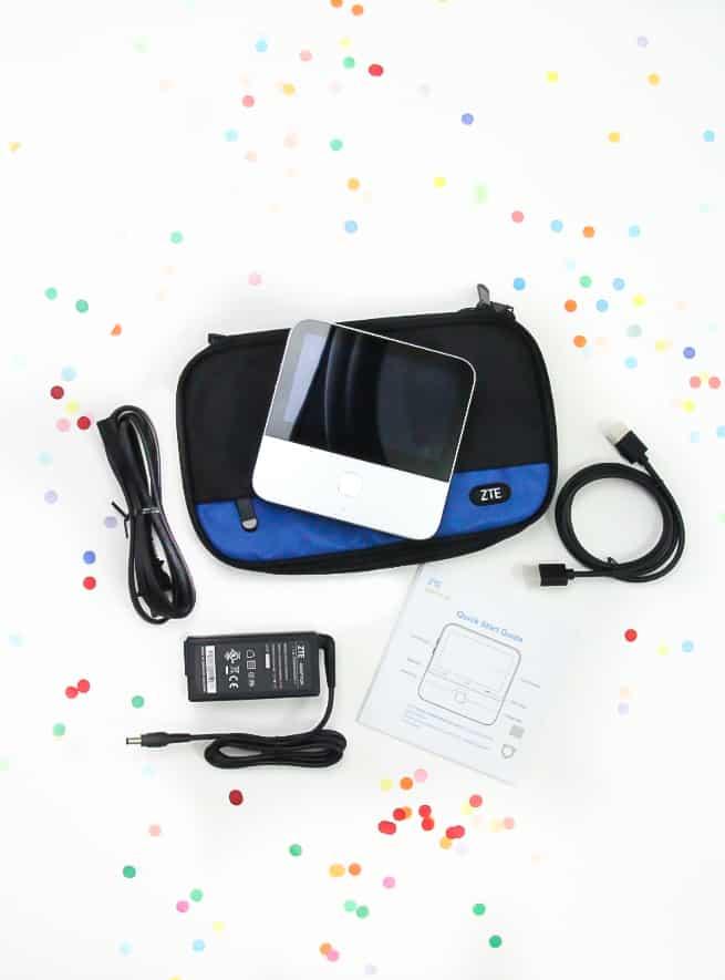 ZTE SPRO2 portable smart projector contents
