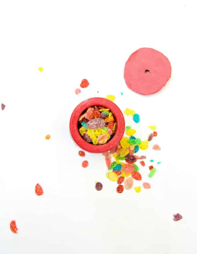 DIY Edible Fruity Pebbles Cereal Firecrackers Step 5