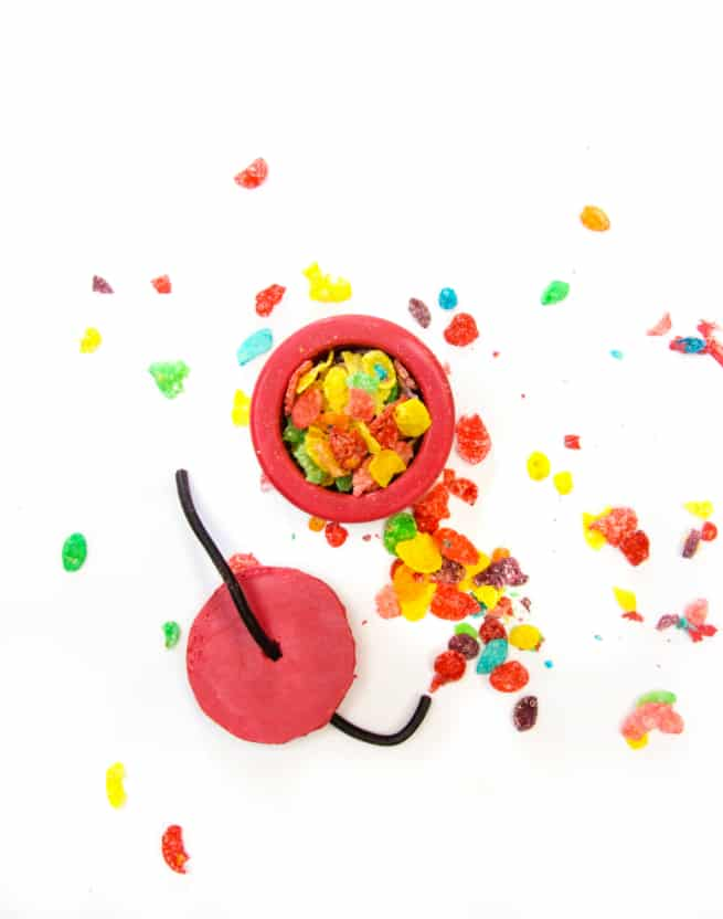 DIY Edible Fruity Pebbles Cereal Firecrackers Step 6