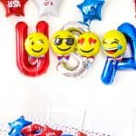 Easy DIY Independence Day Balloons!