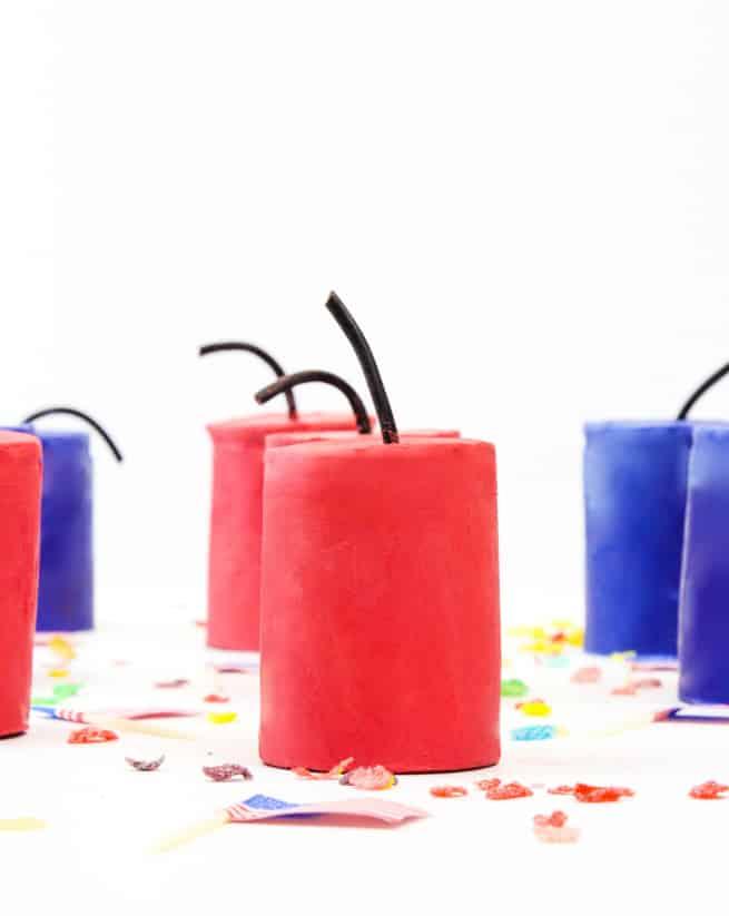 DIY Fruity Pebbles Cereal Firecrackers