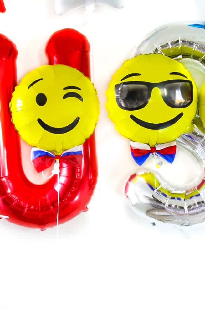 DIY Independence Day Emoji Balloons-1