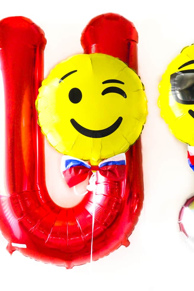 DIY Independence Day Emoji Balloons-2