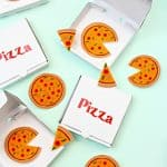 DIY Pizza Brooches, Slice Pins & Mini Pizza Boxes!