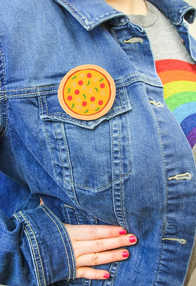 DIY Pizza Pins