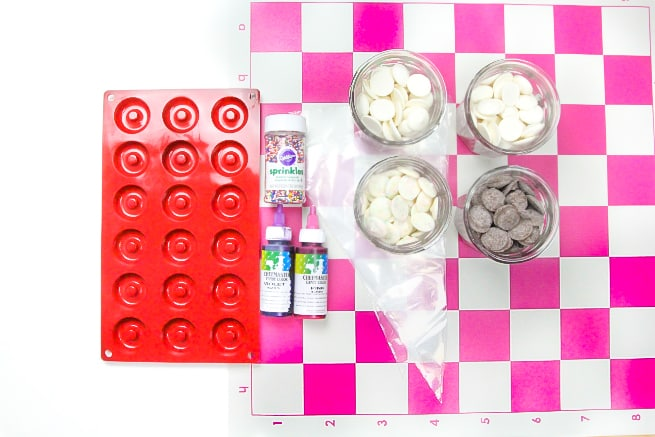 Donut Checkers DIY Supplies