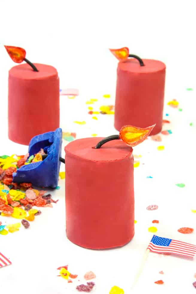 Final Fruity Pebbles Cereal Firecrackers