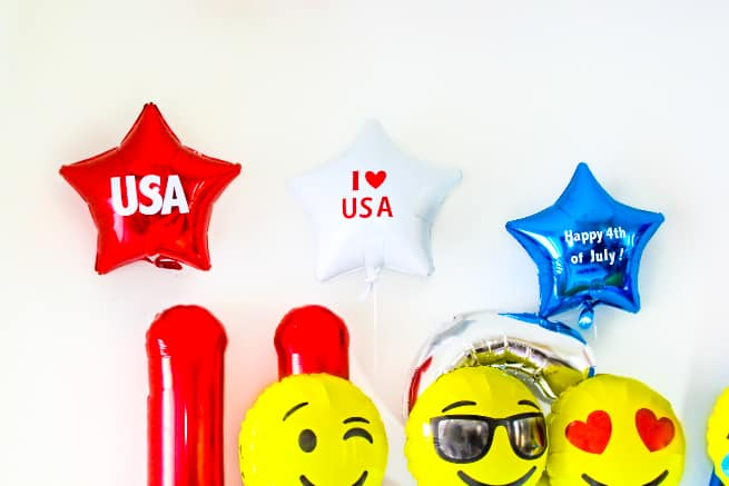 Independence Day DIY Balloons