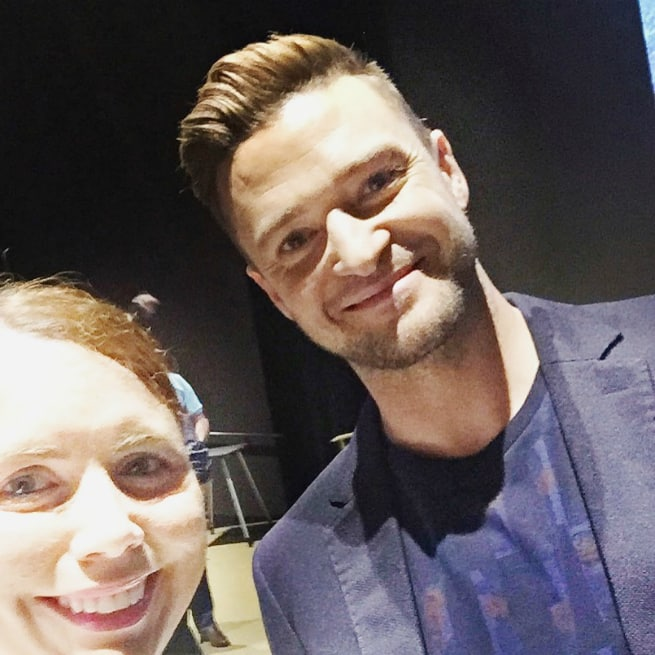 Me and Justin Timberlake