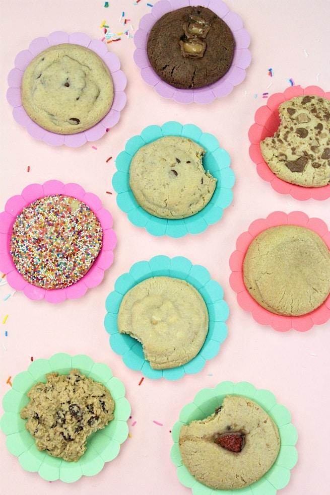 Milk Jar Cookie Tasting