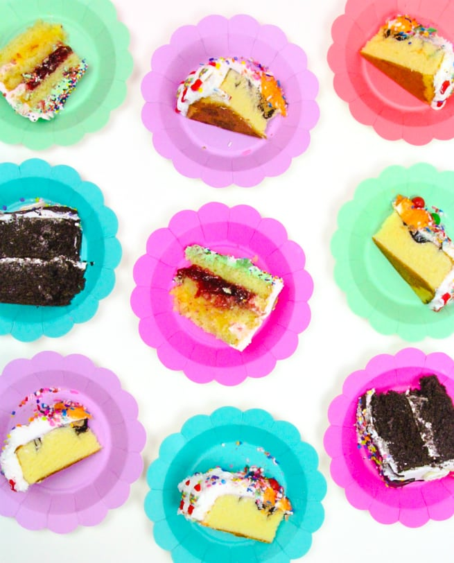 Tasty Treat Cake Slices