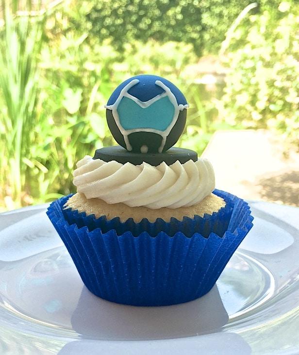 Voltron Cupcake