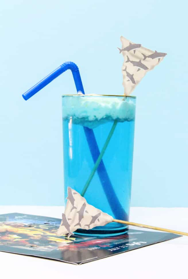 DIY Sharknado Drink